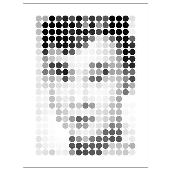 Audrey by David Marsh  - pixel prints. sweet