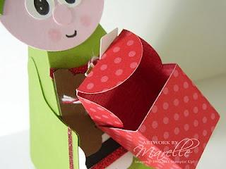 Petal Cone Die Gift that opens