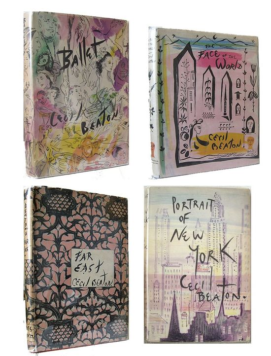 Cecil Beaton book covers