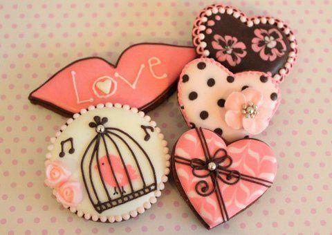Valentine Cookies, via Flickr.