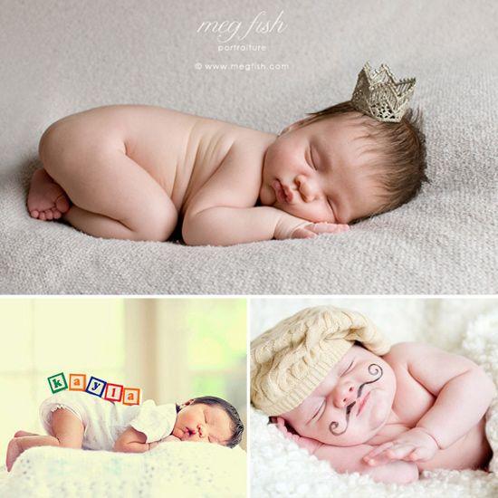 9 newborn picture ideas