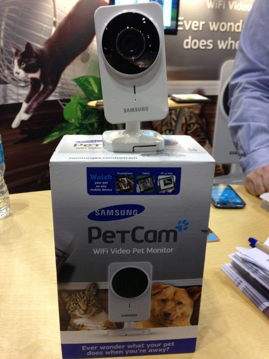 Best Overall New Pet Product: Pet Cam by Samsung