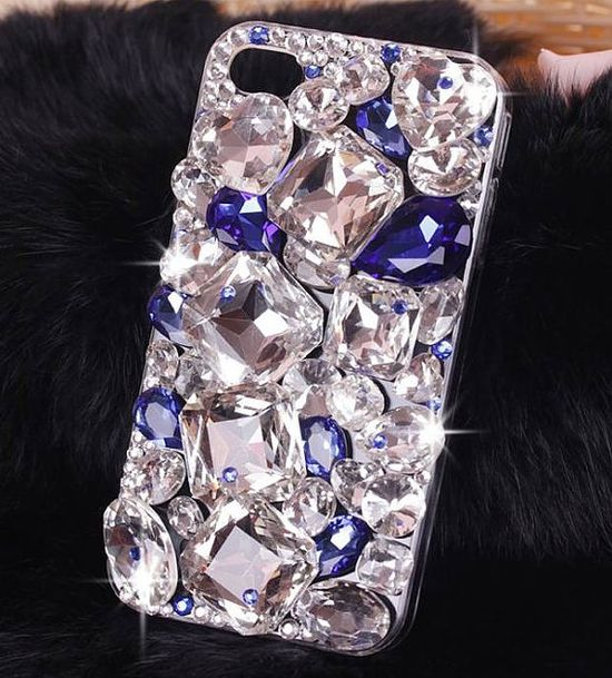 Bling Swarovski iphone 5 case iphone 4 case iphone 4s by Ulikehome, $24.99