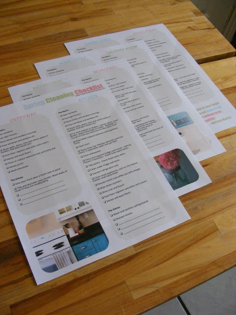 The Complete Guide to Imperfect Homemaking: Free Printable Spring Cleaning Checklist