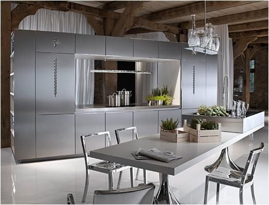 modern kitchen design ideas, latest trends in kitchen cabinets and islands Modernspacesnyc.com