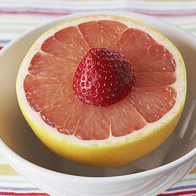 Even if you changed nothing else about your diet, eating half a grapefruit before each meal may help you lose up to a pound a week!
