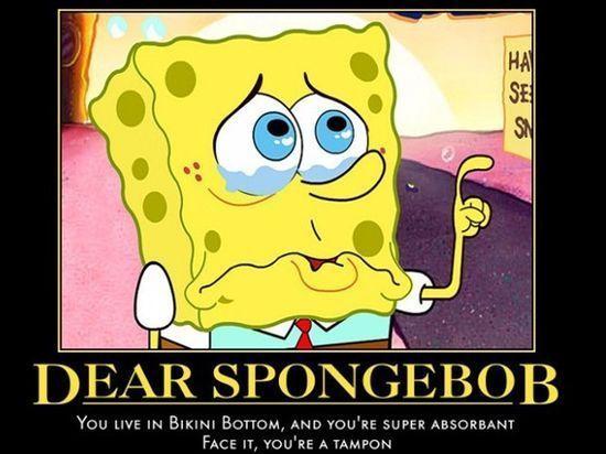 Dear Spongebob - funny pictures - funny photos - funny images - funny pics - funny quotes - funny animals