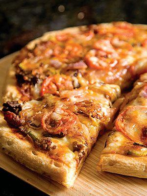 Bacon-Cheeseburger Pizza