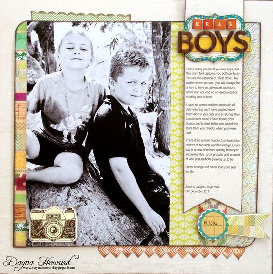 Real Boys - Scrapbook.com