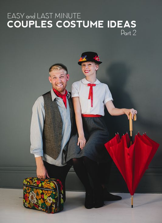 Mary Poppins costume for couples @Britney Chickenpow Wood, have you two ever done this before? It would be so perfect!