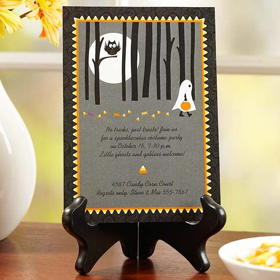 Halloween Party Invitation and Other Free Party Printables