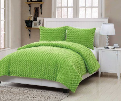 Green Comforters - Bedroom Decor Ideas