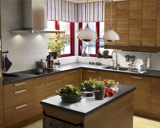 Kitchen Ikea Kitchen Design, Birch cabinets