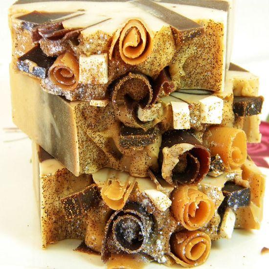 Vanilla Spice Handmade Artisan Vegan Soap by svsoaps on Etsy, $6.95