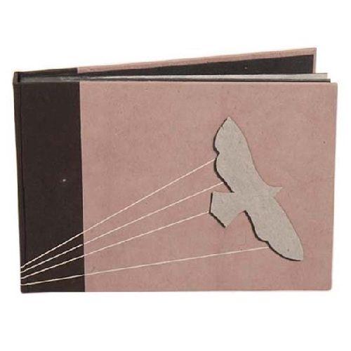 Bird Design Photo Album With Audery Stitches