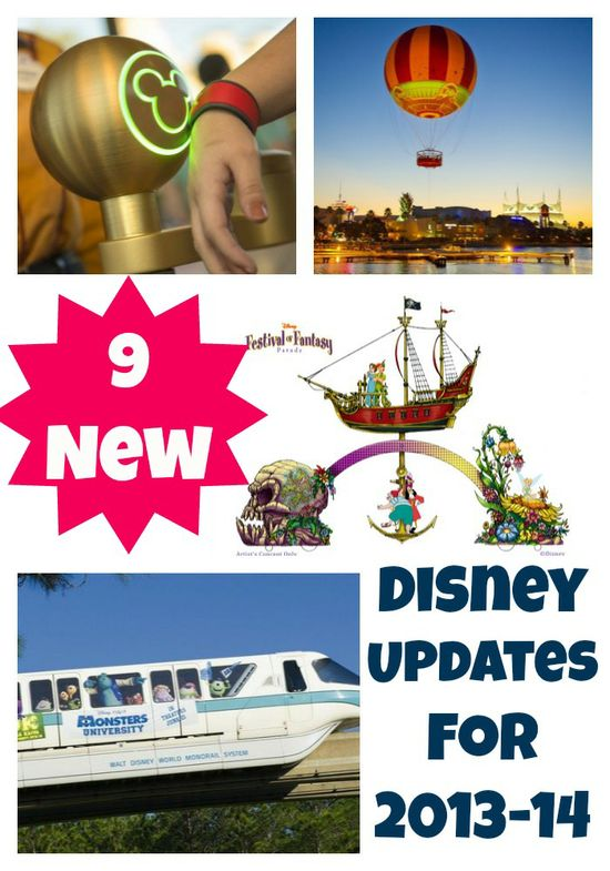 9 New Experiences And Offerings Available At Walt Disney Resort: 2013-2014 l
