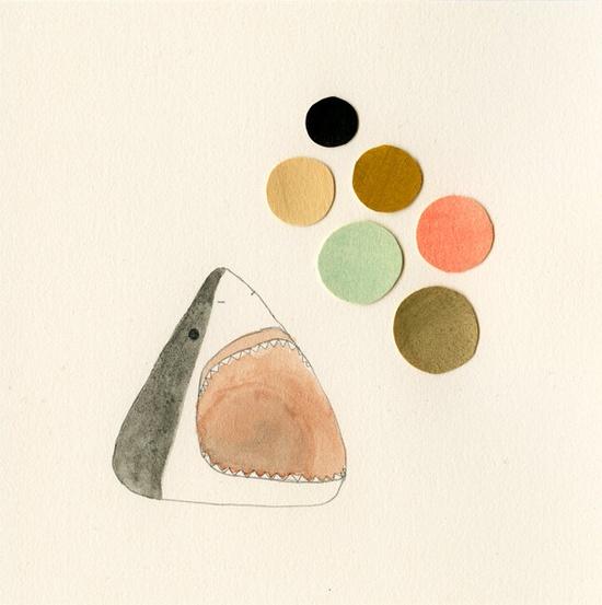 Shark dots. #designlovefest