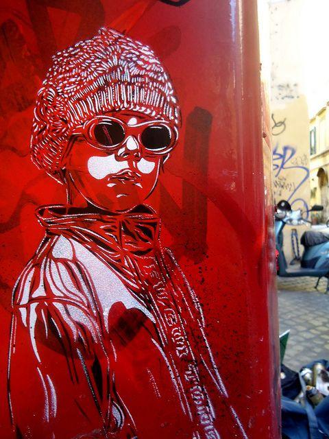 C215 - Roma by C215, via Flickr