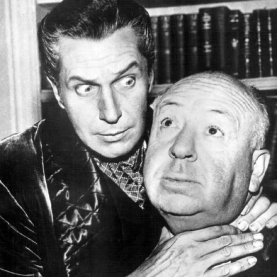 Vincent Price & Alfred Hitchcock