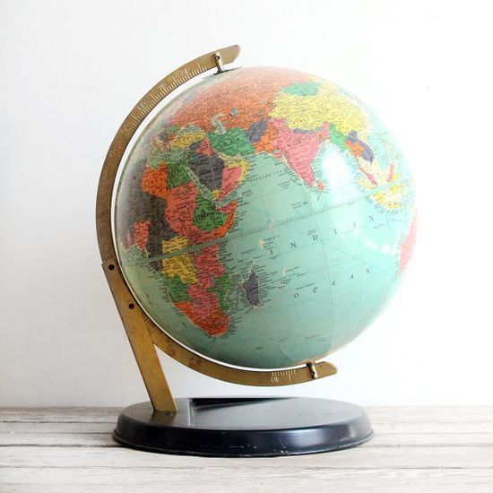 1950's globe