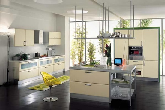 Modern home kitchen interior design, unique modern minimalist style. The modern kitchen interior only way to optimize equipment in your kitchen is not made for the modern kitchen centrist. Modern kitchen interior use white color aims to impressive clean, spacious and elegant thereby creating a comfortable atmosphere.