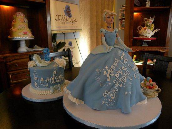 Cinderella cake and smash cake