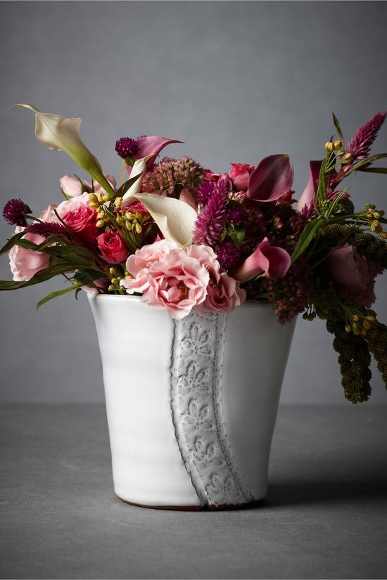 Curlicues & Scallops Vase  $16.00