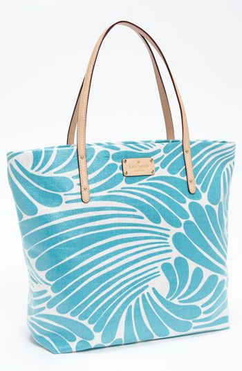 Just found my perfect summer tote @Nordstrom! (#KateSpade)