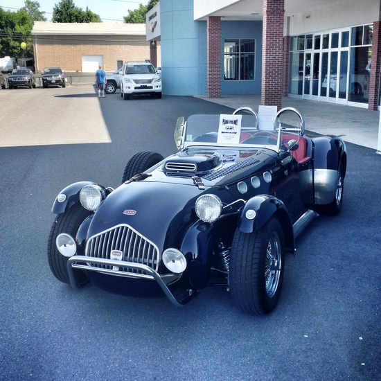 Allard sports car. Beautiful.