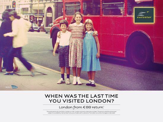 Eurostar Nostalgy by Leg agency