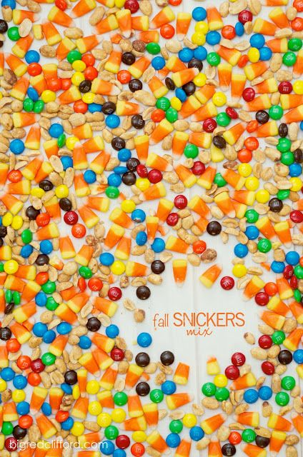 Fall Snickers Mix