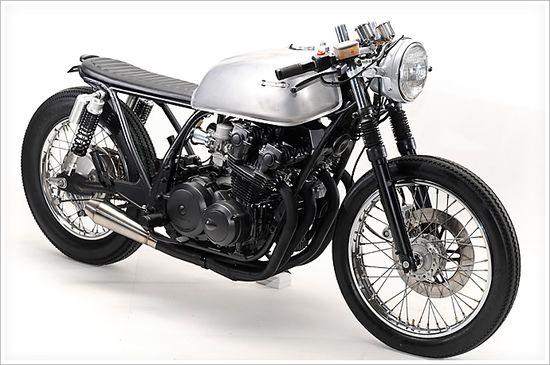 "Steel Bent Custom's '81 Honda CB750-""Janica"""