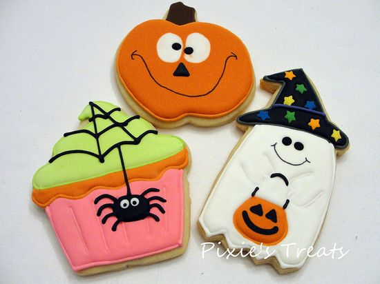 Silly, spooky Halloween Cookies