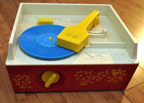 Fisher Price Record Player. 1970's.  I had this too.