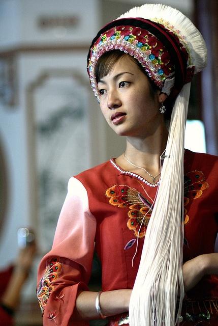 Bai woman, Yunnan, China
