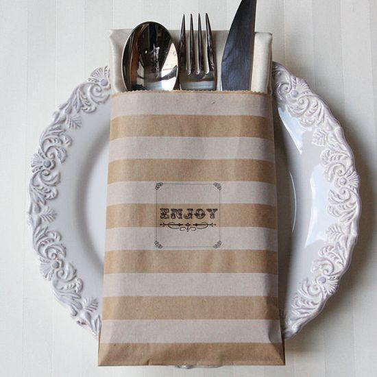 printable cutlery bag