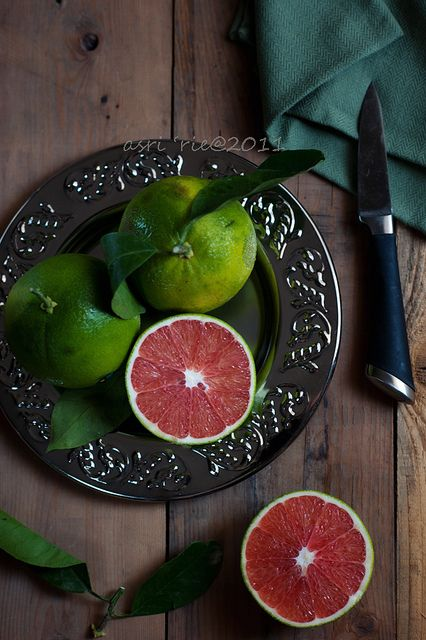 ? Food styling photography blood orange