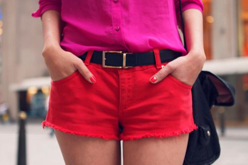 #dresscolorfully red + pink