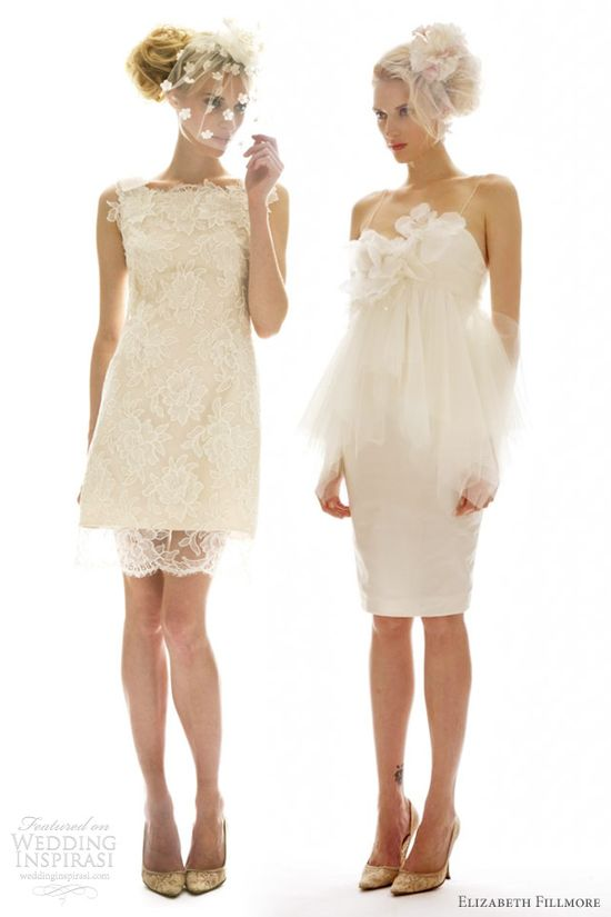 Elizabeth Fillmore Fall 2012 Wedding Dresses