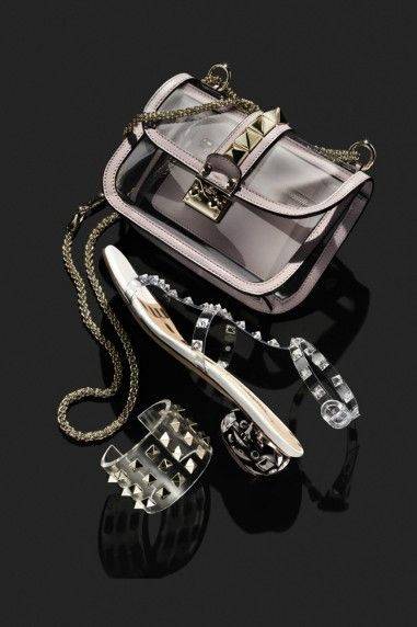 APPARENTLY TRANSPARENT: The Valentino Naked Rockstud Collection -