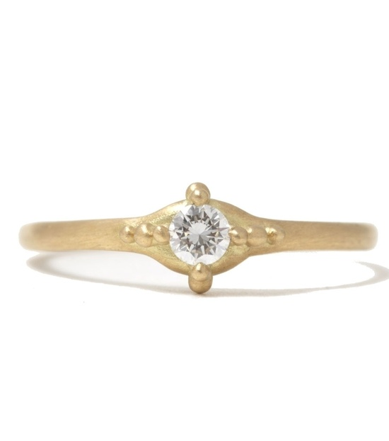 catbird :: shop by category :: JEWELRY :: Ariel Ring with One Diamond