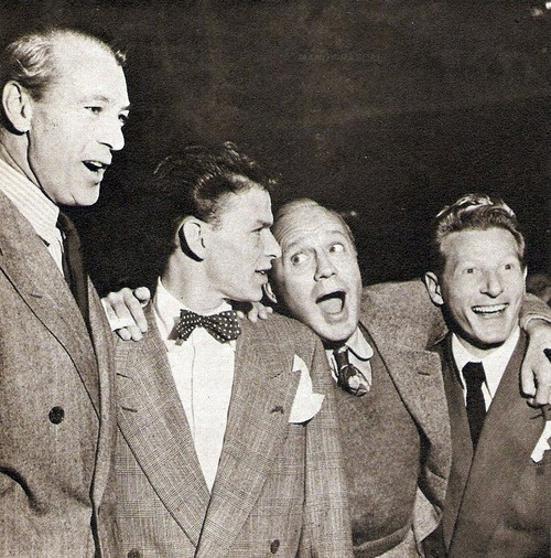 Gary Cooper, Frank Sinatra, Jack Benny & Danny Kaye