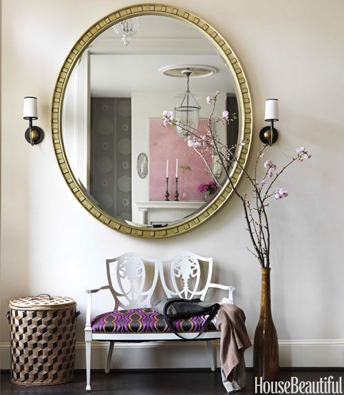 Barry Dixon. large mirror