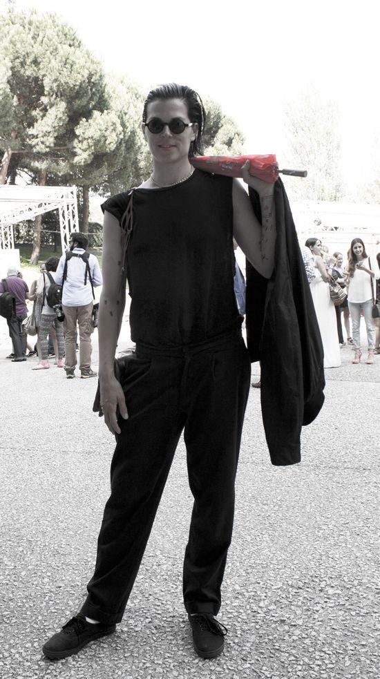 Bimba Bosé at Madrid Fashion Showman