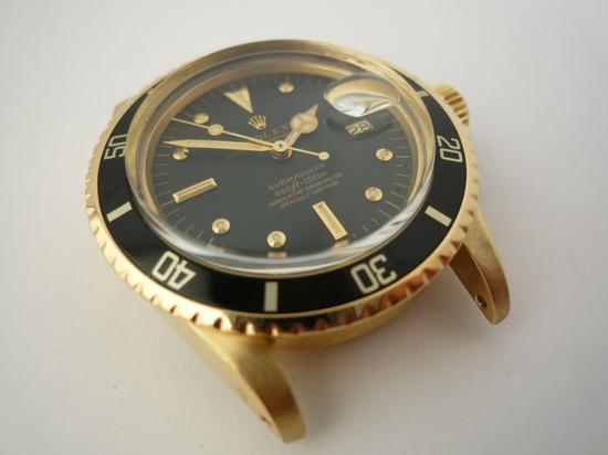 18k Rolex Submariner Ref 1680