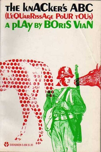 The Knacker's ABC by Boris Vian. Grove Press, 1968. First edition. Cover by Roy Kuhlman. www.roykuhlman.com