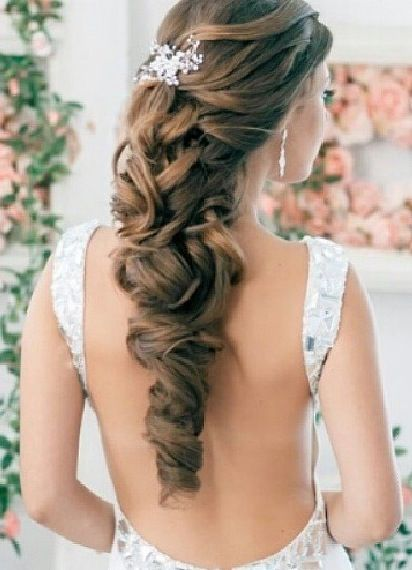Perfect elegance for a wedding.   Visit us at www.bhbeautycolle...
