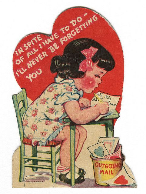 vintage valentine 1938