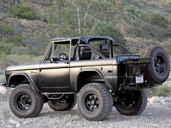 1976 Ford Bronco - Matte