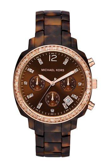 Michael Kors 'Wolcott' Chronograph Bracelet Watch